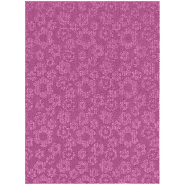 Molly Pink Indoor/Outdoor Area Rug by Threadbind