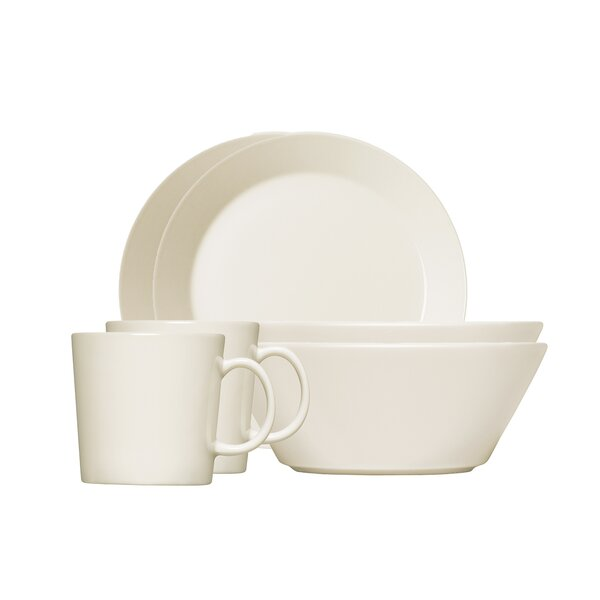 Teema Breakfast 6 Piece Single Place Setting, Service for 1 by Iittala