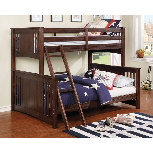 Suazo Twin Over Full Bunk Bed by Harriet Bee