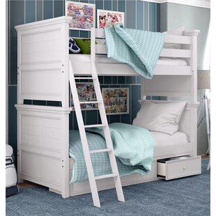 Inexpensive Inwood Complete Standard Bunk Bed with Drawers By Harriet Bee