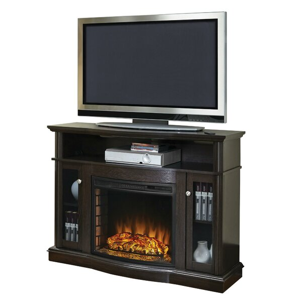 Batley Media 48 TV Stand with Fireplace by Charlton Home