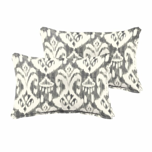 Peabody Flanged 2 Piece Pillow Set by Andover Mills