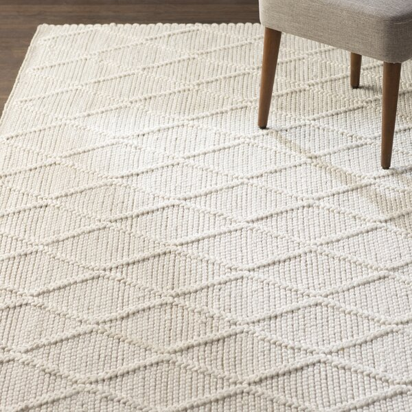 Billie Hand-Tufted Ivory Area Rug by Laurel Foundry Modern Farmhouse
