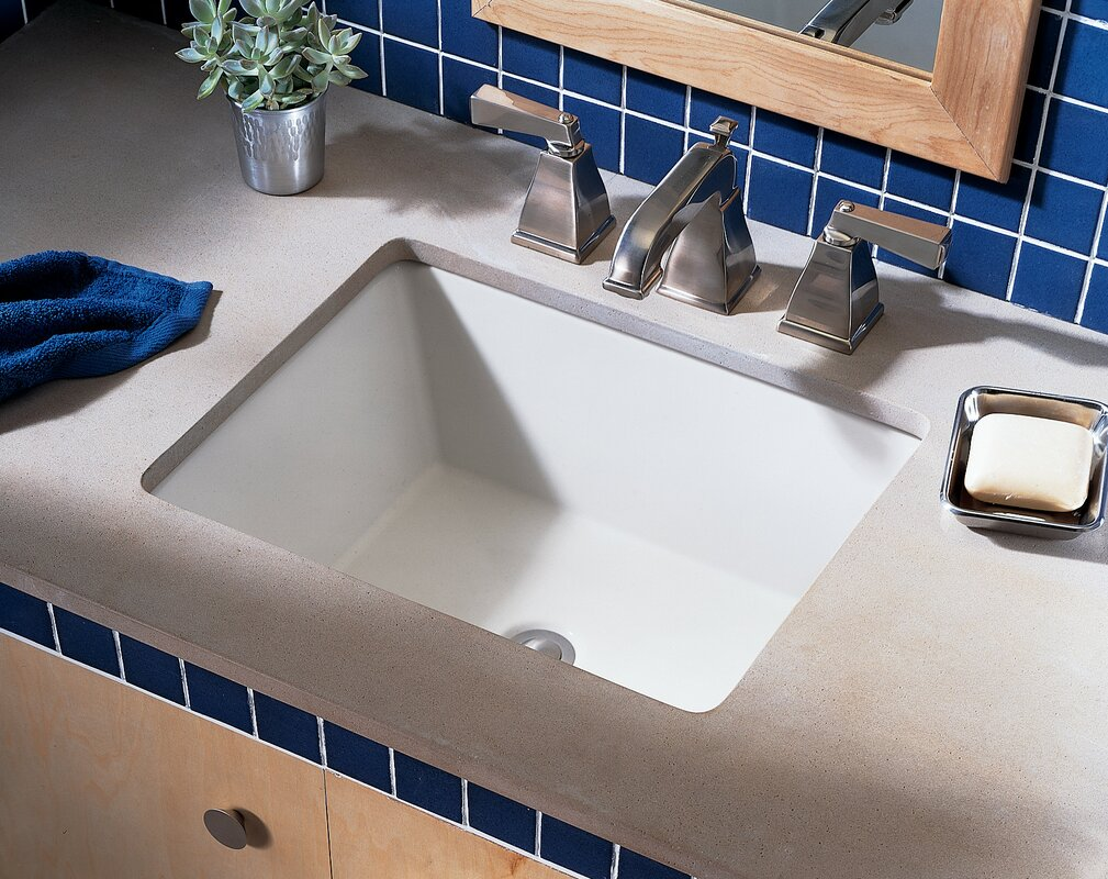 American Standard Boulevard Ceramic Rectangular Undermount Bathroom Sink With Overflow Reviews
