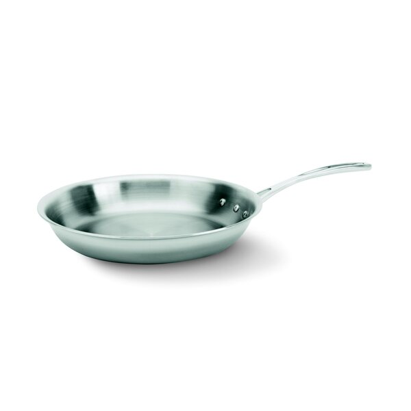 Tri-Ply Stainless Steel Frying Pan by Calphalon