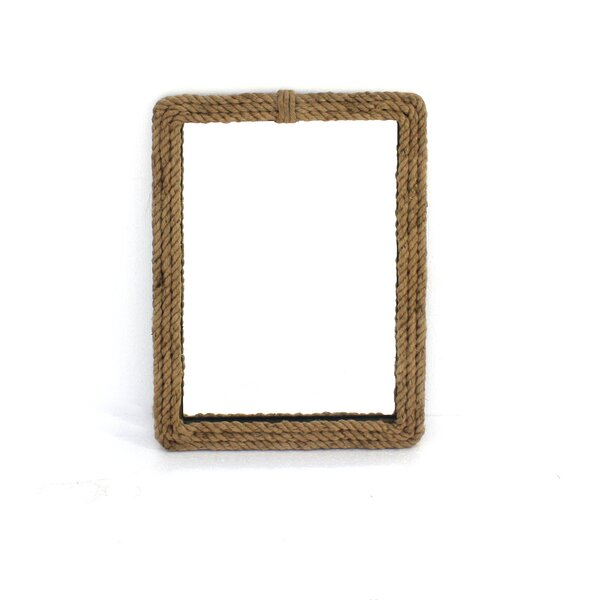 Wood Wall Mirror with Rope Frame (Set of 2) by Teton Home