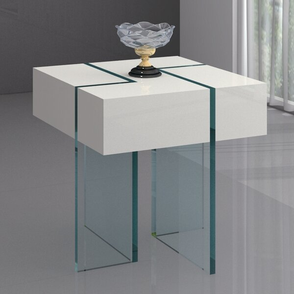Berndt End Table by Wade Logan