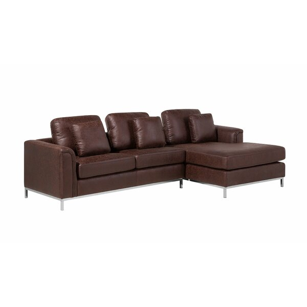 Catlett Right Hand Facing Sectional with Ottoman by Wade Logan