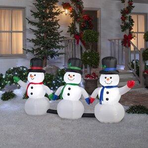 Christmas Inflatables You'll Love Wayfair - Pathway Christmas Lights