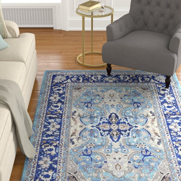 Scollo Blue Area Rug by Astoria Grand