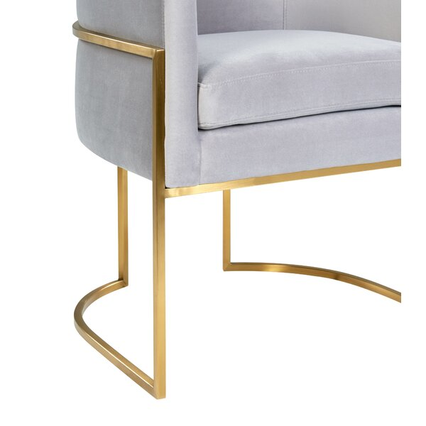 Giselle Grey Upholstered Dining Chair By Inspire Me! Home D??cor