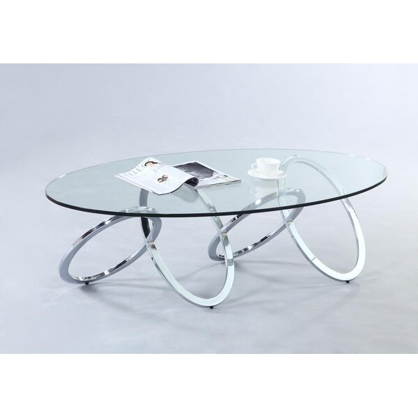 Jerold Abstract Coffee Table By Fleur De Lis Living