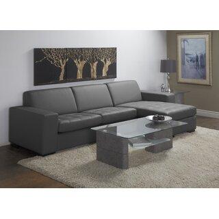 Wenlock Leather Sectional by Orren Ellis SKU:ED997757 Order