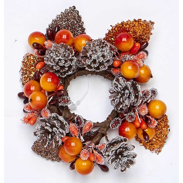 Fall Berry 1.25 Wreath (Set of 2) by The Holiday Aisle