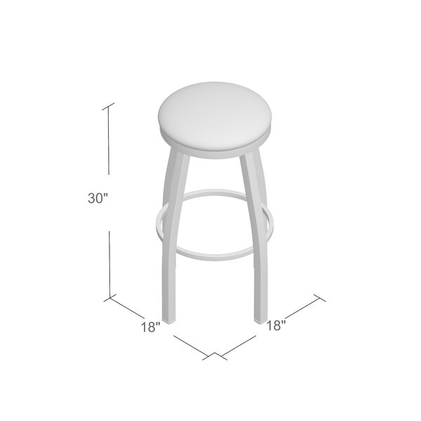 Cragin 30 Swivel Bar Stool by Wrought Studio