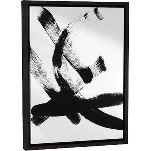 'Brush Stroke I' Framed Print of Painting by Orren Ellis