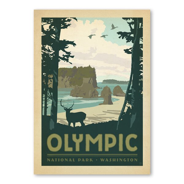 Olympic National Park Vintage Advertisement by East Urban Home