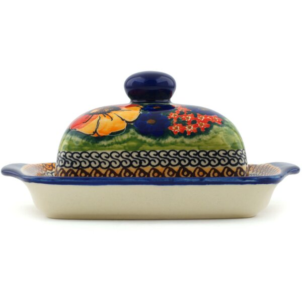 Bright Beauty Butter Dish by Polmedia