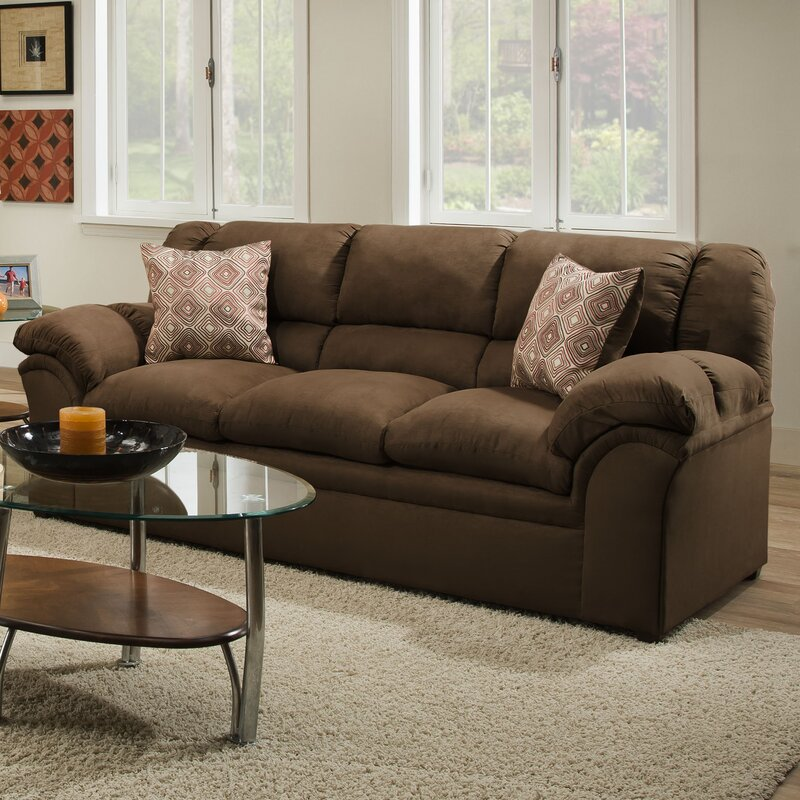 Alcott Hill Simmons Upholstery Beasley Sofa Reviews Wayfair