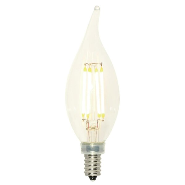 4W E12 Dimmable LED Edison Candle Light Bulb by Westinghouse Lighting