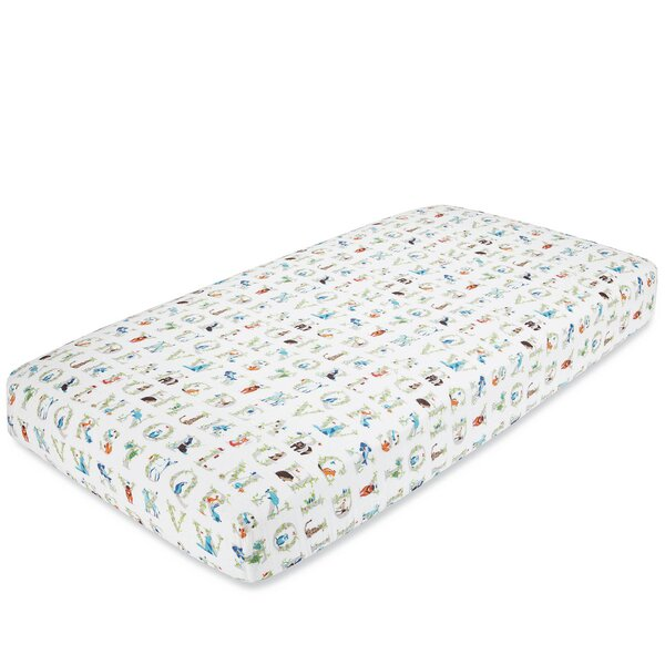 Paper Tales Fitted Crib Sheet by aden + anais