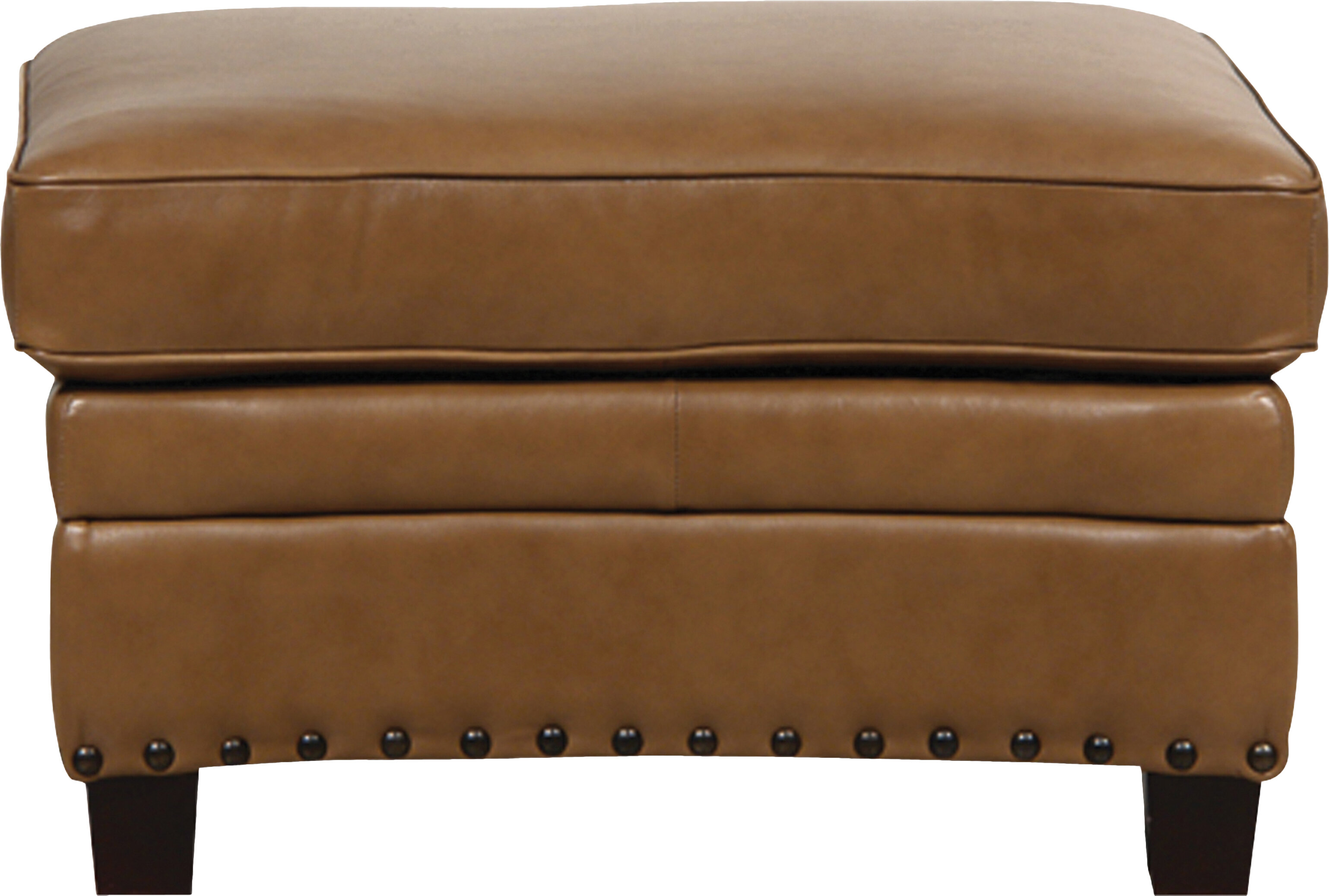 Darby home co hubbard leather storage ottoman reviews wayfair