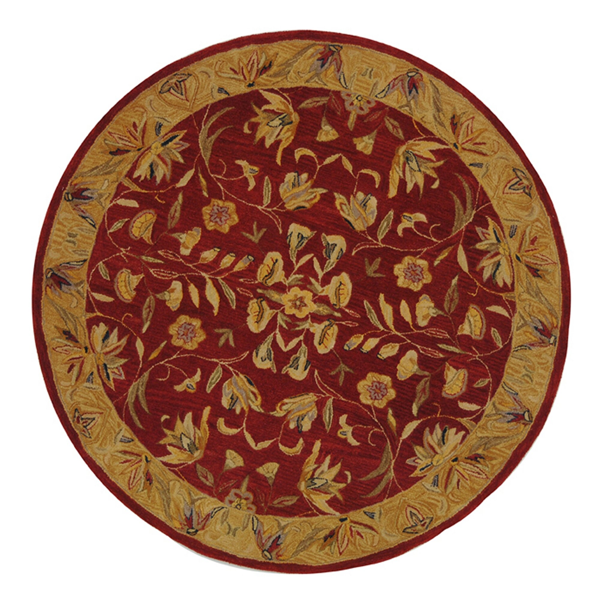 Safavieh Anatolia Burgundy Gold Area Rug Reviews Wayfair