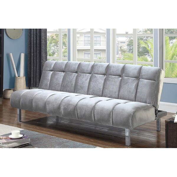 Matherly Twin Tufted Back Convertible Sofa By Wrought Studio