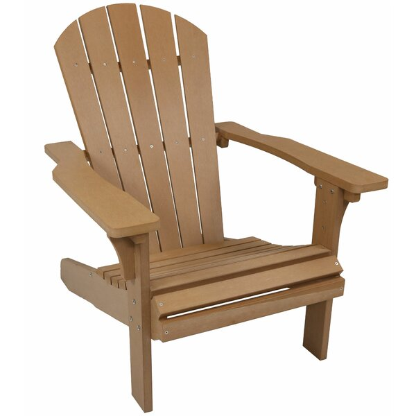 Shawn All-Weather Plastic Adirondack Chair by Millwood Pines Millwood Pines