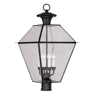 Inexpensive Orchard Lane Outdoor 4-Light Lantern Head By Three Posts