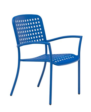 Hanna Stacking Patio Dining Chair by Wabash Valley