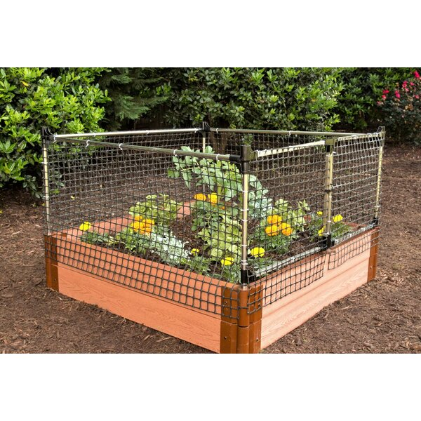 2 ft. H x 4 ft. W Stack & Extend Fencing by Frame It All