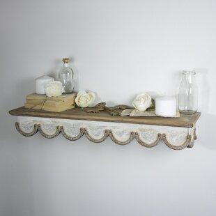 Lewes Wooden Floating Shelf