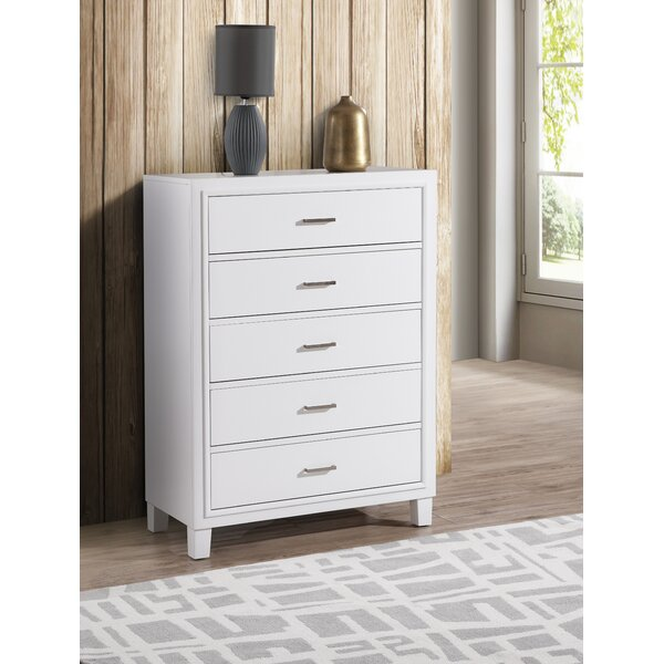 Weatherspoon 5 Drawer Chest by Charlton Home