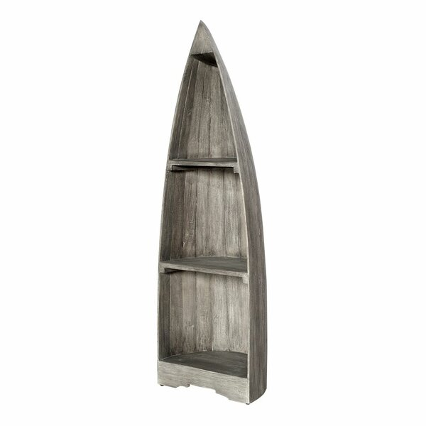 Renwick Small Boat Corner Unit Bookcase by Loon Peak