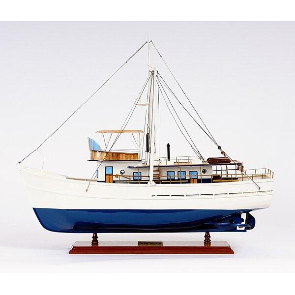 Dickie Walker Model Boat by Old Modern Handicrafts
