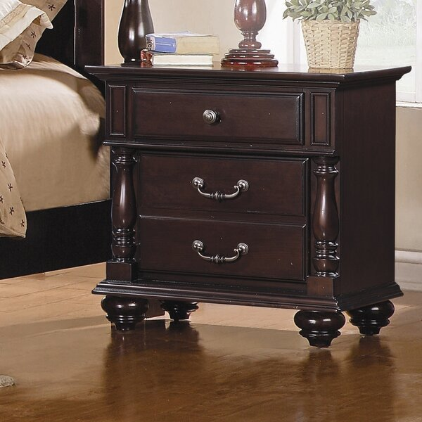 Townsford 2 Drawer Nightstand by Woodhaven Hill