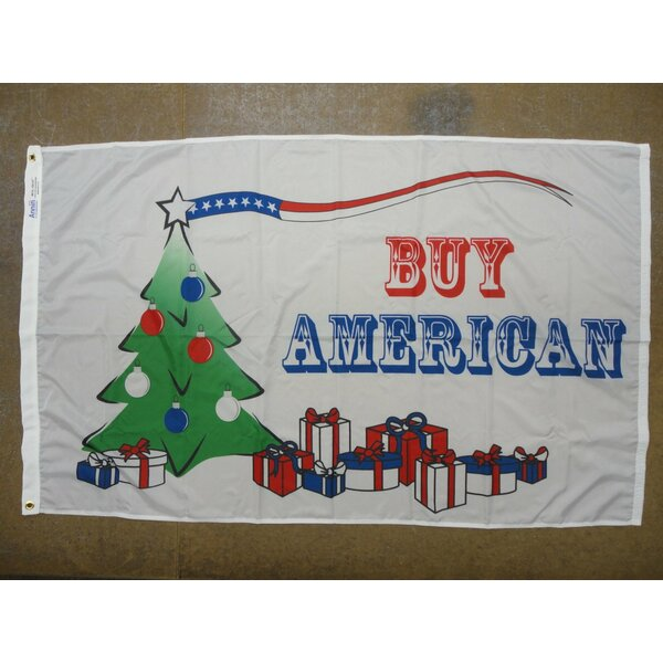Buy American X-Mas Traditional Flag by Annin Flagmakers
