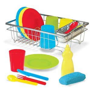 Buying 23 Piece Let's Play House! Wash and Dry Dish Set ByMelissa & Doug