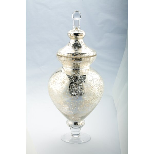 Apothecary Urn by Diamond Star Glass