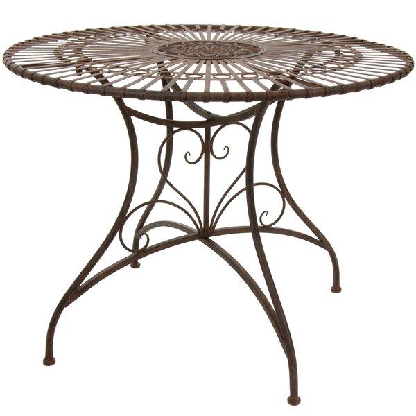 Bohrer Metal Dining Table by Fleur De Lis Living