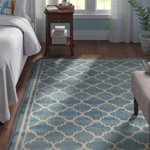 Best Price Waconia Blue Area Rug By Andover Mills