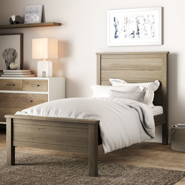 Bedlington Platform Panel Bed by Greyleigh