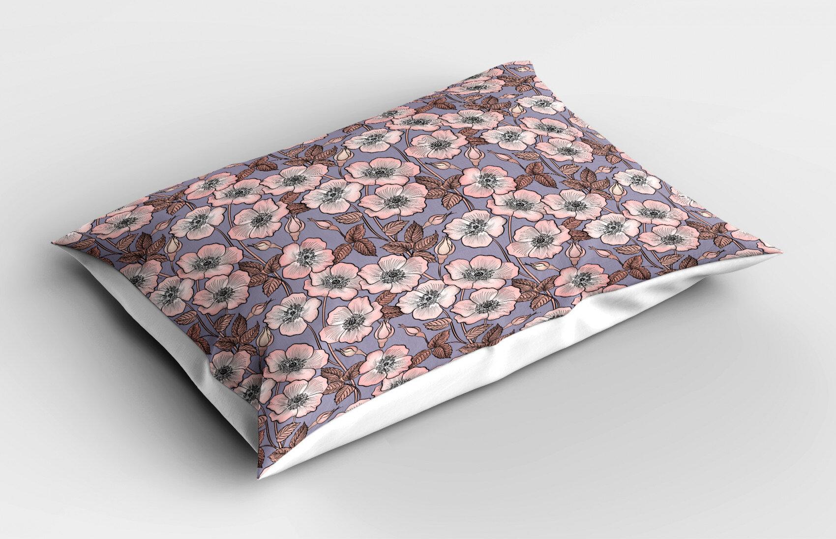 30 x 20 Pillow Sham Kess InHouse Sylvia Cook French Lilacs Purple Photography