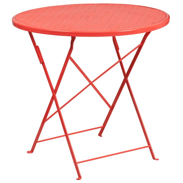 Hassie Folding Bistro Table by Zipcode Design