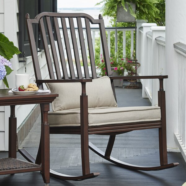 River House Porch Rocking Chair with Cushions by Paula Deen Home