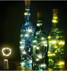 Bottle Cover 20 Warm LED Light Garland by The Holiday Aisle