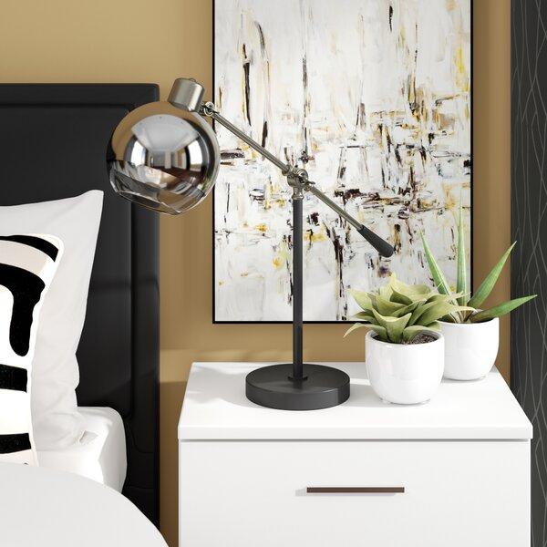 Bloomsbury Adjustable Height Metal Task 22.5 Desk Lamp by Wade Logan