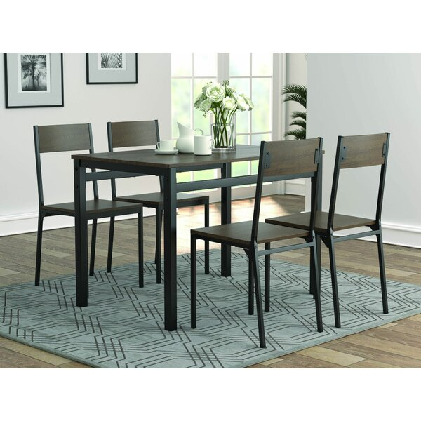 Murrell 5 Piece Dining Set by 17 Stories 17 Stories
