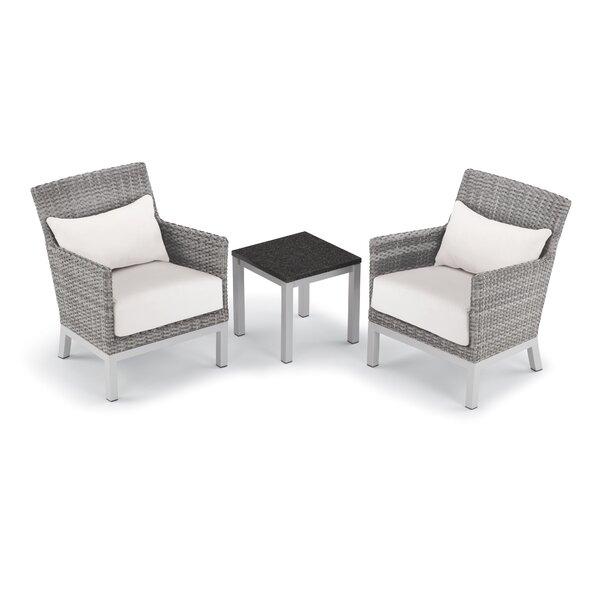 Saleem 3 Piece Seating Group with Cushion by Brayden Studio